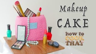 Makeup Bag Cake | How To Tutorial