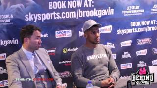 Anthony Joshua - post Kevin Johnson fight press conference
