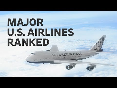 The Best and Worst U.S. Airlines of 2018: WSJ Annual Rankings