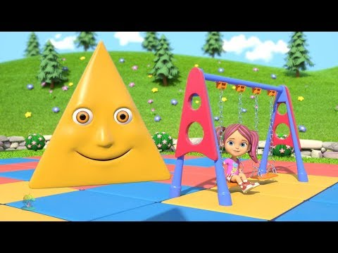 Learn Shapes | Kindergarten Nursery Rhymes Songs for Kids | Educational Videos by Little Treehouse