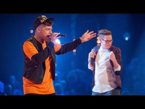 crowley - http://www.bbc.co.uk/thevoiceuk Singing 'P.Y.T' in their vocal battle.
