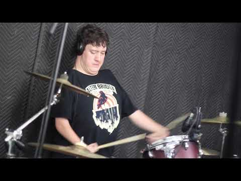 My friend has cerebral palsy and plays drums. So we made a video to show off how talented he is!