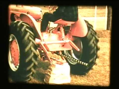 1950's Allis-Chalmers promotional film for WD-45 tractors