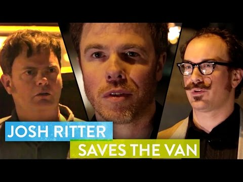 josh ritter - Josh Ritter talks with Rainn Wilson in the back of his 70s van...And gives the SoulPancake audience an exclusive song download from his album