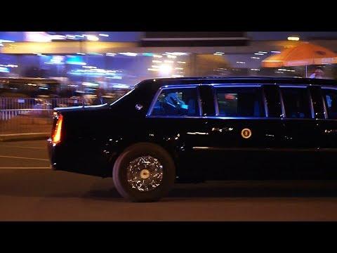 Khi bạn thấy rõ tổng thống Mỹ Donald Trump vẫy chào mình - US president wave hand to people - Thời lượng: 3 phút và 45 giây.