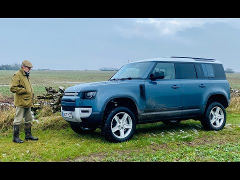 2021 brings floods and a farm review of the new Defender 110 P400!