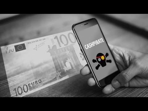 guadagnare con uno smartphone: cashpirate app