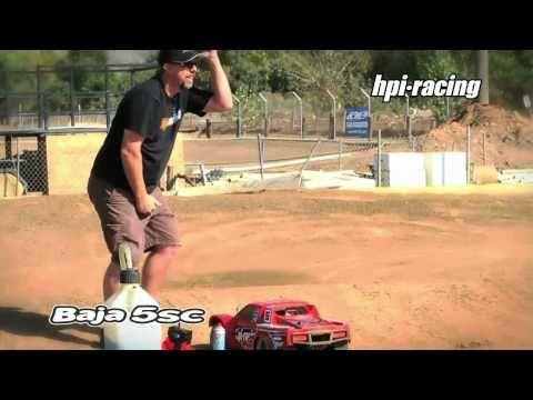 Смотреть видео HPI BAJA 5SC 1/5 2WD RTR