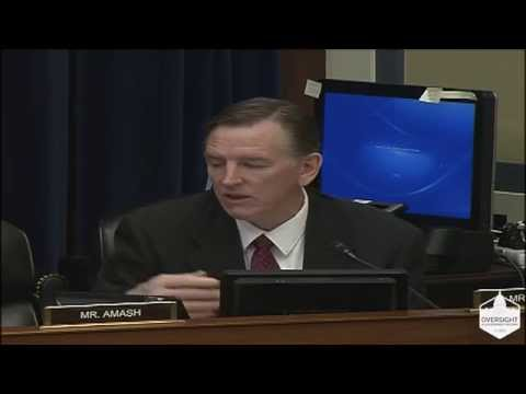 """Video: Rep. Gosar to EPA Administrator McCarthy: """"Shame on You for Disregarding Rule of Law"""""""