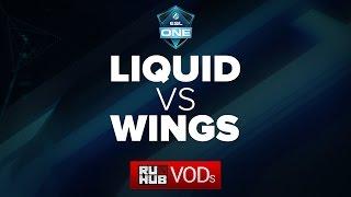 Liquid vs Wings, game 2