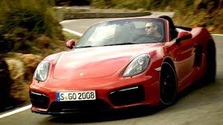 First Drive► 2015 Porsche Boxster GTS (Good Exhaust Sound)