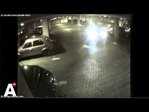 Bierkoerier ternauwernood ontsnapt aan gewapende overval in Amsterdam