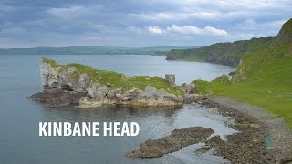 Capturing Kinbane Head with a drone in 4k
