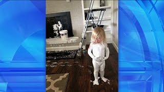 Kids can get into just about anything – paint, a pile of laundry, makeup. Ellen's viewers sent in some reasons that reminded her why she doesn't have kids!