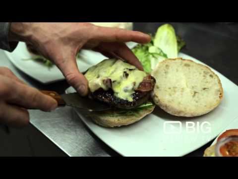 Hache Burger Restaurant in Shoreditch London serving the best Burgers, Salad and Beer