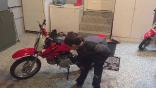 6. How to start a Honda CRF70