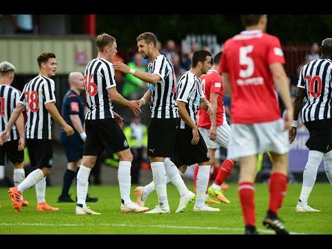 Video: Newcastle United | Goals v St Patrick's Athletic