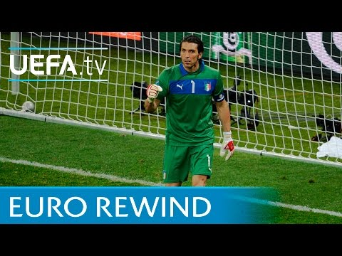 England V Italy: Watch The Full 2012 Penalty Shoot-out