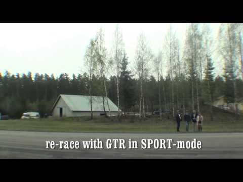 nissan r35 gtr vs saab 9-3 aero