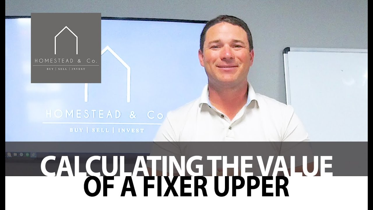 Determining the Sales Price of a Fixer-Upper