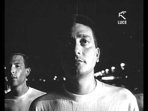 Marina Militare - Consegna fiaccola olimpica Roma 1960 a Nave Vespucci