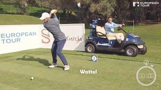 Caccia al record per la buca di golf più veloce