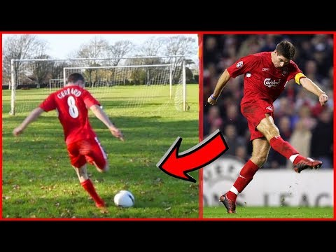 Recreating THAT Steven Gerrard Volley