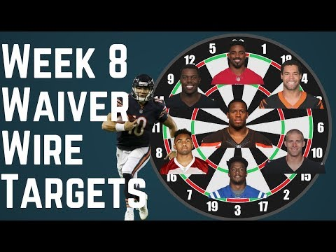 Fantasy Football - Week 8 Waiver Wire Targets