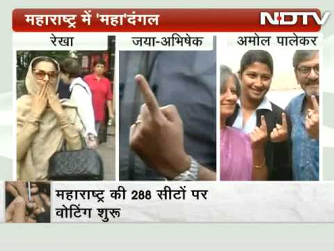 Bollywood stars cast vote in Mumbai