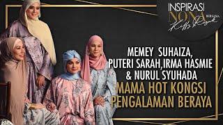 Video Mama Hot MEMEY SUHAIZA, PUTERI SARAH, IRMA HASMIE & NURUL SYUHADA Kongsi Pengalaman Beraya MP3, 3GP, MP4, WEBM, AVI, FLV September 2019