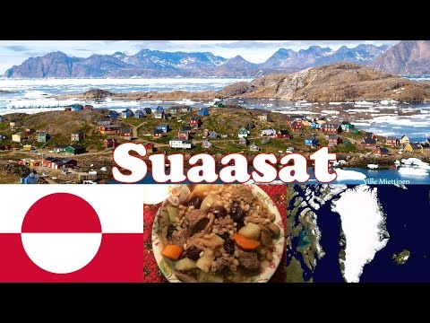 Suaasat: Greenland's National Dish (In Greenlandic and English)