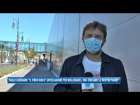 05/09/2020 - PAOLO GIORDANO: INSOPPORTABILE CHI DICE CHE IL VIRUS CI MIGLIORA