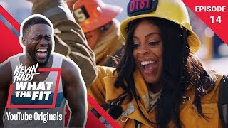 Firefighting with Niecy Nash | Kevin Hart: What The Fit Episode 14 | Laugh Out Loud Network