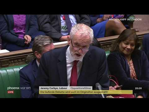 Brexit: Debatte über das No-Deal-Brexit Gesetz im Unt ...