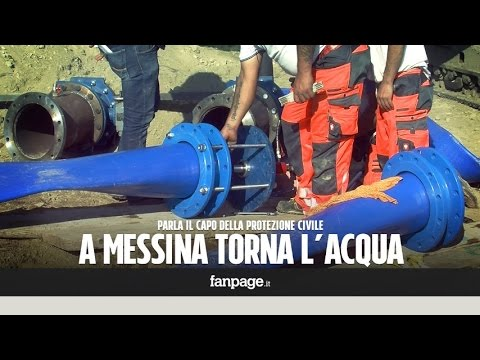 a messina torna l'acqua dopo 21 giorni!