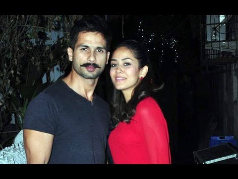 Mira Turns Shahid Cordial With People Around |