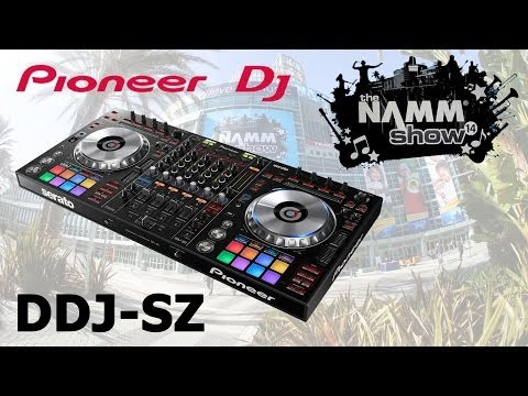 Pioneer DDJ-SZ Serato Controller Mixer CDJ First Look – NAMM 2014