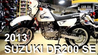 8. 2013 SUZUKI DR200 SE - Revisited Update