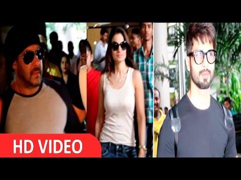 Shahid Kapoor, Salman Khan & Ameesha Patel Retrun From IIFA 2016