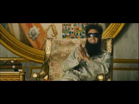 Download The Dictator - Official Trailer HD Mp4 3GP Video and MP3