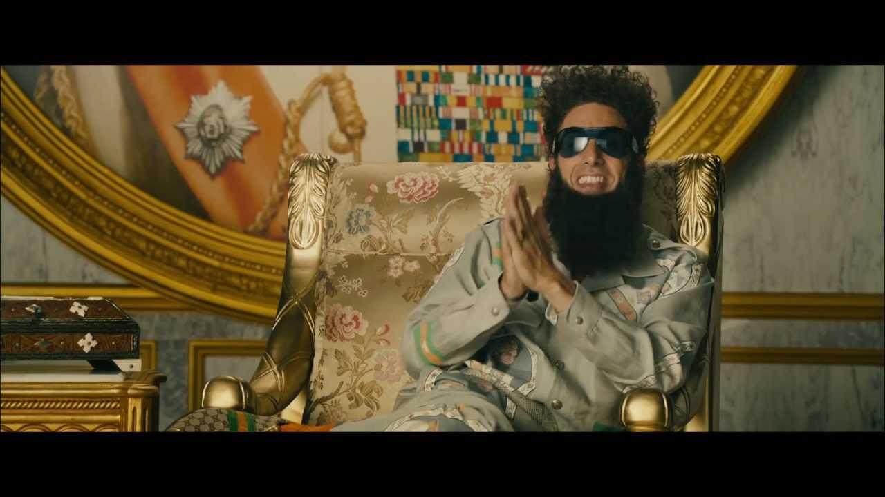 Movie Trailer:  The Dictator (2012)