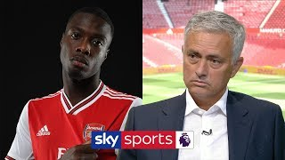 Video Jose Mourinho gives his opinions on Arsenal's new signings | Super Sunday MP3, 3GP, MP4, WEBM, AVI, FLV Agustus 2019