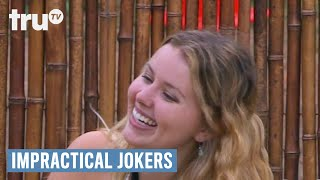 "Q, Murr and Joe talk about who they would sleep with in heaven and if they'd visit a psychic.SUBSCRIBE to get the latest truTV content: http://bit.ly/truTVSubscribeCheck out videos from Impractical Jokers: http://bit.ly/IJTruTVCheck out videos from Billy On The Street: http://bit.ly/BillyOnTheStreetCheck out videos from Adam Ruins Everything: http://bit.ly/ARETruTVCheck out videos from The Carbonaro Effect: http://bit.ly/TheCarbonaroEffectCheck out videos from Comedy Knockout: http://bit.ly/ComedyKnockoutCheck out videos from Hack My Life: Inside Hacks: http://bit.ly/HackMyLifeCheck out videos from Talk Show The Game Show: http://bit.ly/TalkShowTheGameShowCheck out videos from Upscale with Prentice Penny: http://bit.ly/UpscaleWithPrenticePennySee more from truTV: http://bit.ly/FunnyBecauseItsTRULike truTV on Facebook: http://bit.ly/truTVFacebookFollow truTV on Twitter: http://bit.ly/truTVTweetsFollow truTV on Instagram: http://bit.ly/truTVInstaAbout Impractical Jokers:If laughter is contagious, these guys should be quarantined! Q, Sal, Joe and Murr have entertained each other for years with the most hilarious practical jokes they could imagine. Now these real-life best friends are challenging each other to the most outrageous dares and uproarious stunts ever to be caught on hidden camera.About truTV:Seen across multiple platforms in 90 million households, truTV delivers a fresh and unexpected take on comedy with such popular original series as Impractical Jokers, Billy on the Street, The Carbonaro Effect, Adam Ruins Everything, Hack My Life and Fameless, as well as the original scripted comedy Those Who Can't. The fun doesn't stop there. truTV is also a partner in airing the NCAA Division I Men's Basketball Championship.Impractical Jokers - ""Paradise Lost"" Ep. 614  truTVhttp://bit.ly/truTVSubscribe"