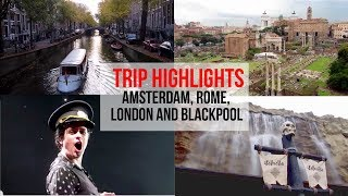 See highlights from my recent trips to Amsterdam (11/16), Rome (11/16), London (02/17), Blackpool (02/17) and Amsterdam (03/17). I loved every moment of these trips in no small part thanks to my friends Erin, Lianne, Bethany, Alex, Lenny and Claudia.