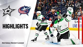 Stars @ Blue Jackets 10/16/19 Highlights by NHL