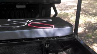 10. Yutrax UTV Seat on Kawasaki Mule 610