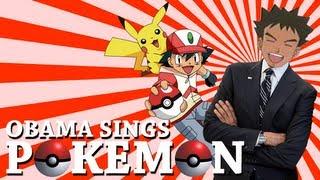 Barack Obama Singing the Pokémon Theme Song