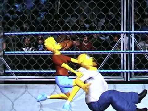 Homer vs Bart Simpson