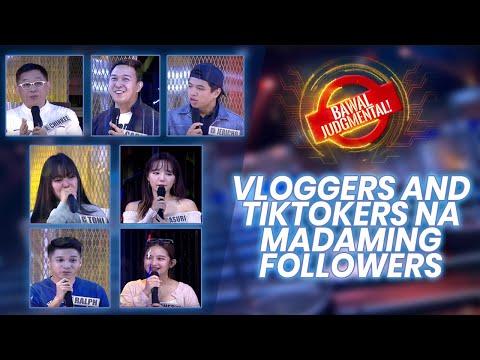 Vloggers At Tiktokers Na Madaming Followers | Bawal Judgmental | November 4 2020