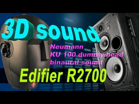 3D sound of Edifier R2700 (видео)